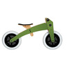 Wishbone 3 in 1 Design Bike - Draisienne Enfant - olive